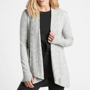 NWT! Gaiam so soft knit wrap cardigan